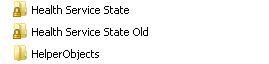 SCOM - Health Service State folder new