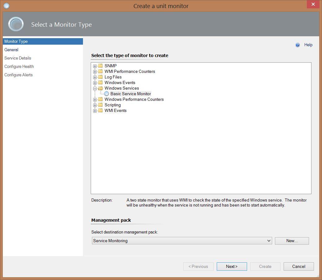 SCOM 2012 R2 – Monitor a Windows Service   Liam Matthews IT