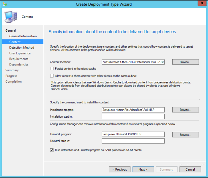 SCCM 2012 R2 - Deploying Microsoft Office 2013 Professional Plus - 19