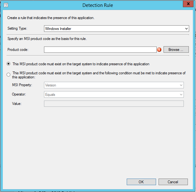 SCCM 2012 R2 – Deploying Microsoft Office 2013 Professional Plus