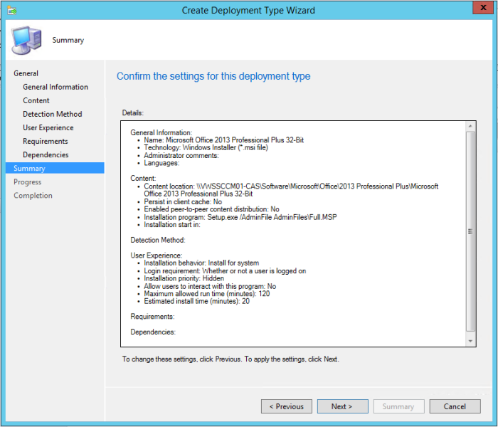 SCCM 2012 R2 - Deploying Microsoft Office 2013 Professional Plus - 27